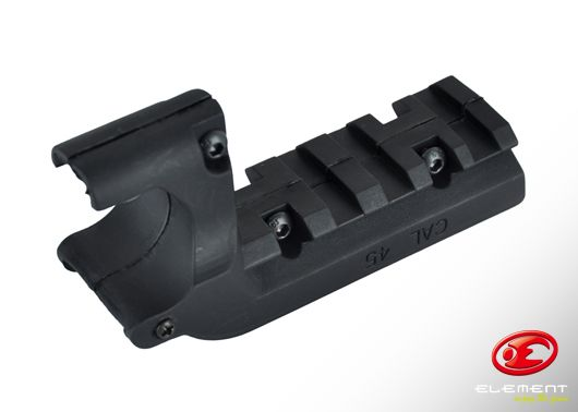 Element Mount Rail for M1911 - Black