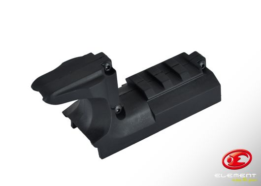 Element Mount Rail for SV Series - Black
