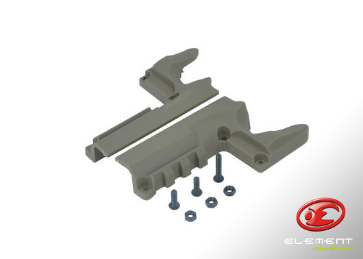Element Mount Rail for SV Series - Tan