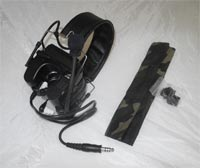Z-TACTICAL zCOMTAC IV Field Headset – Black