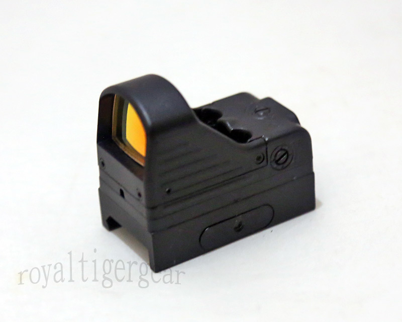 Element MRDS Mini Red Dot /w 20mm Picatinny Rail Mount Base EX201 - Black