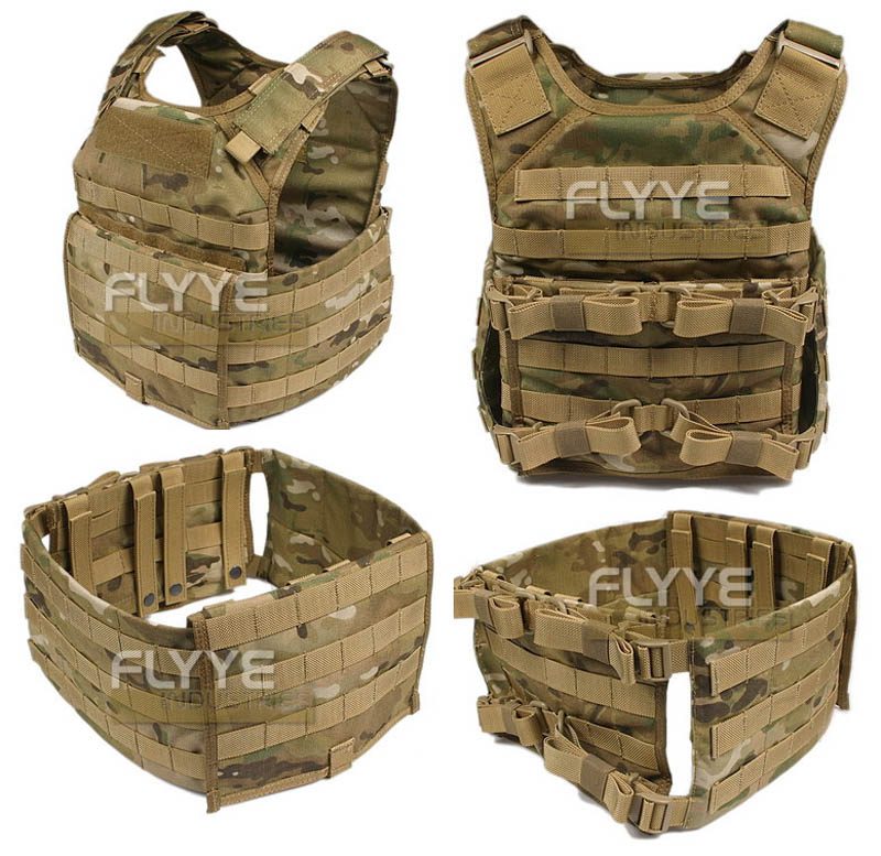 FLYYE Fast Attack Plate Carrier (FAPC) Additional Mobile Plate Carrier - Multicam®