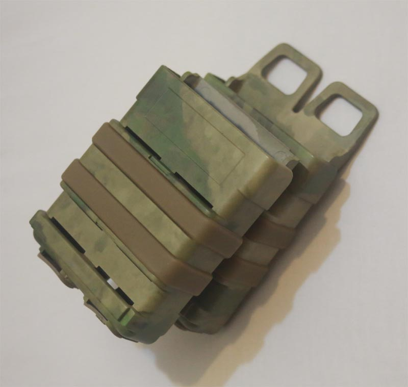 FastMag GEN3 Double M4 Mag Pouch - Water Transfer A-TACS/FG