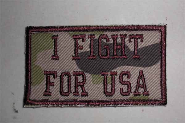 I Fight for USA Patch
