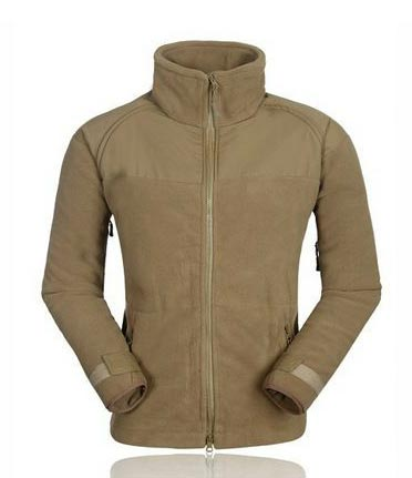 US Army style Fleece Jacket - Coyote Brown