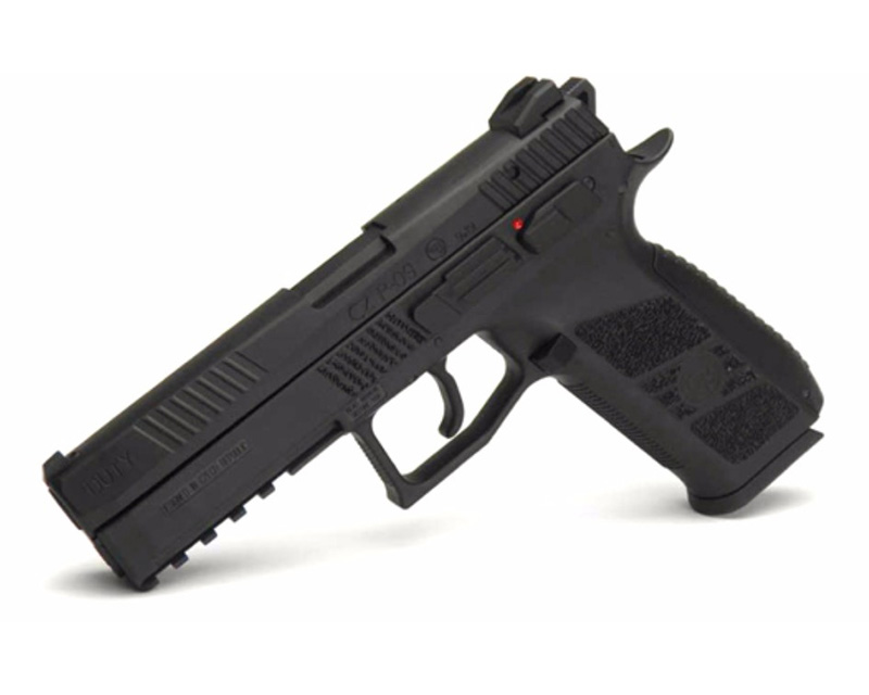 KJ Works CZ P-09 Rail GBB Gas Metal Pistol