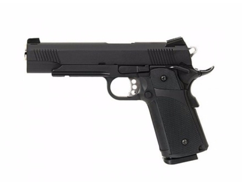 KJ Works Kimber M1911 GBB Gas Metal Pistol