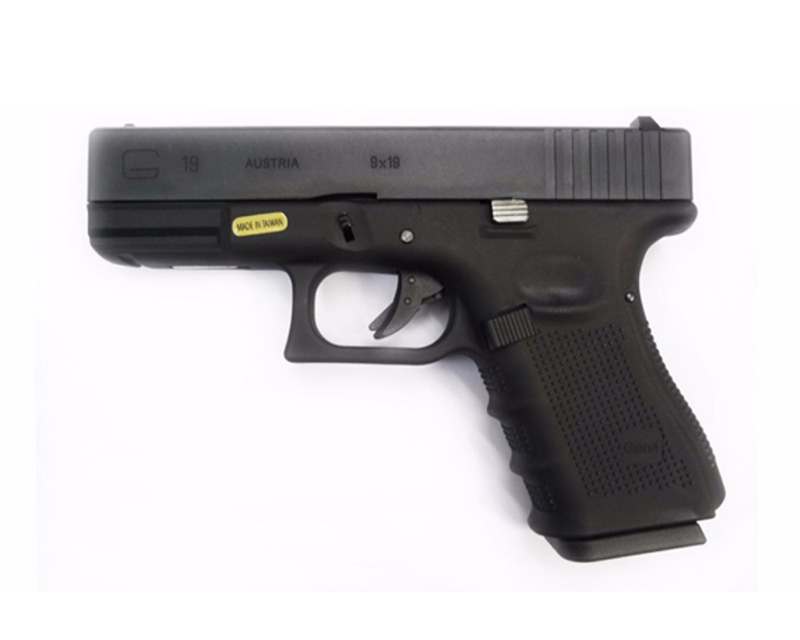 WE GLOCK19 G19 GBB Gas Pistol