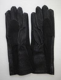 US Air Force Style Gloves - Black