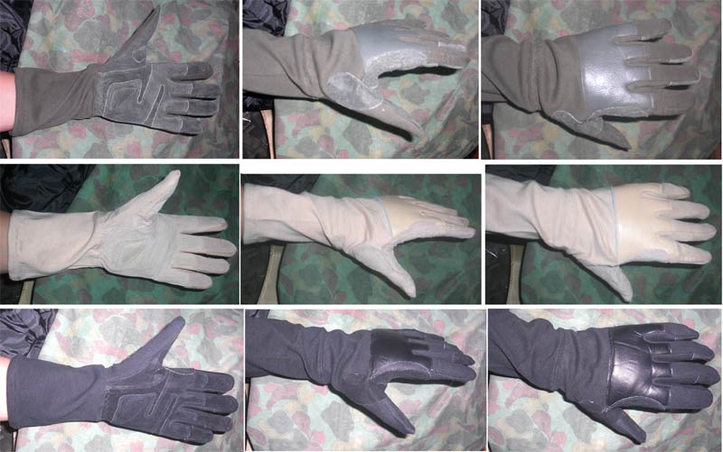 Hell Heavy Duty Tactical Long Gloves