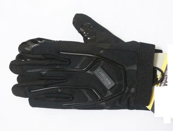 Impact Tactical Padded Glove - Black