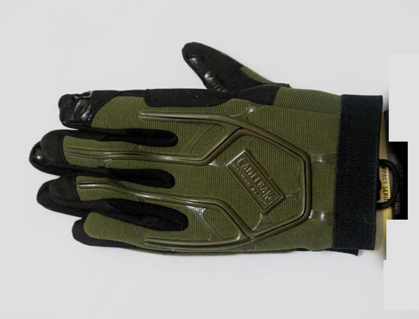Impact Tactical Padded Glove - Foliage Green