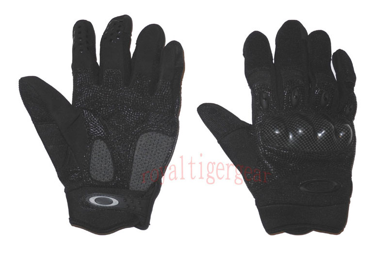 ''O'' Tactical Gloves – Black