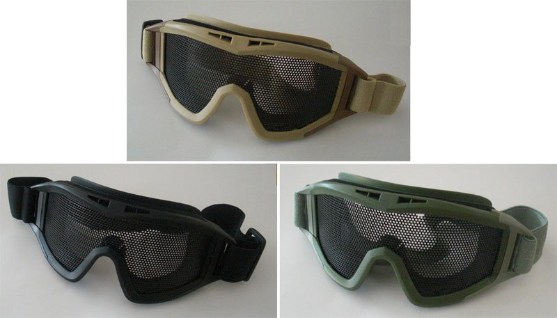 Metal Wire Net Reticular Goggle