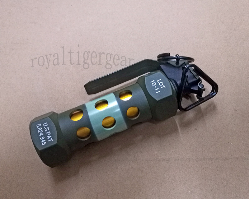 US M84 Dummy Stun Grenade Flashbang Metal Model