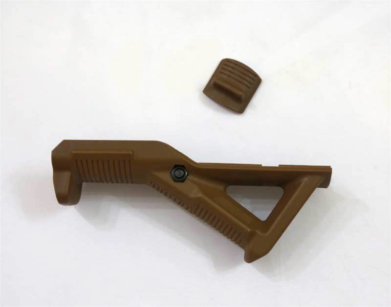 PTS AFG1 Angled Foregrip Front Hand Guard for Rail - Brown