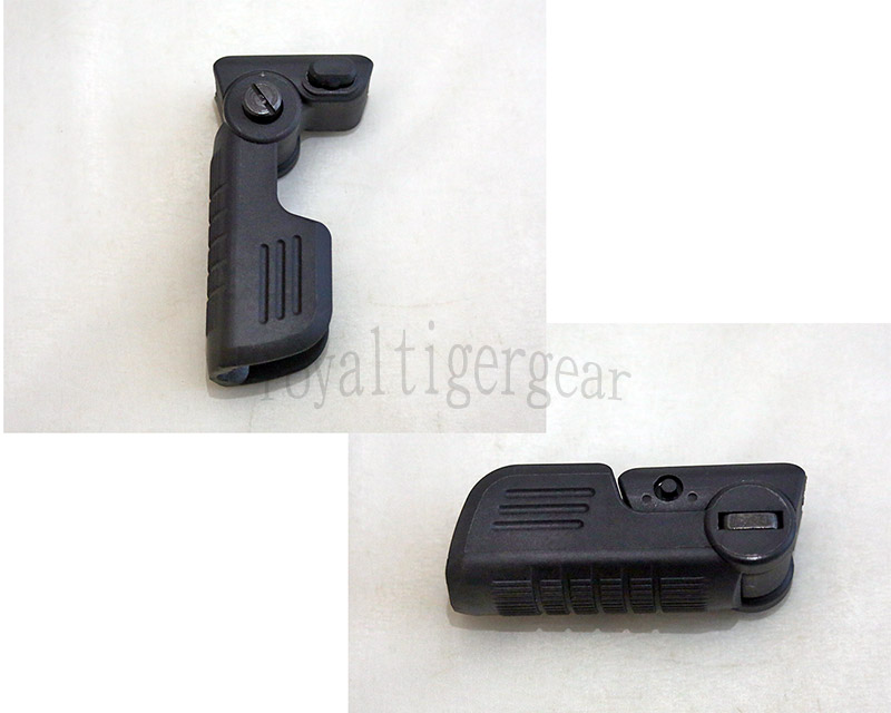 FVG1 Tactical Folding Vertical Forearm Grip - Black