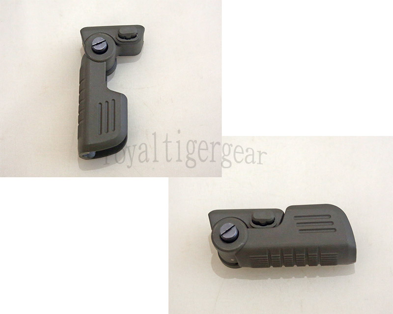 FVG1 Tactical Folding Vertical Forearm Grip - Foliage Green