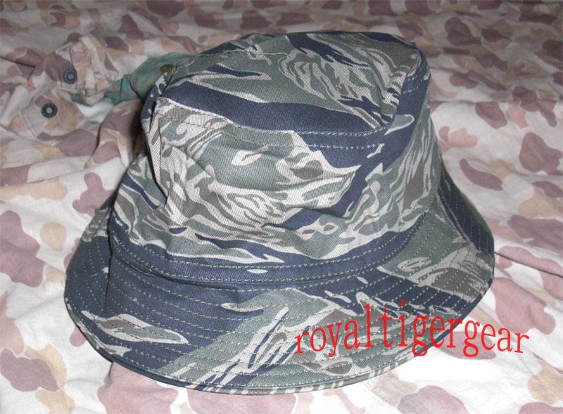Vietnam Tiger Stripe Tadpole Dense Bush Boonie Hat 0c6e0f9edbb
