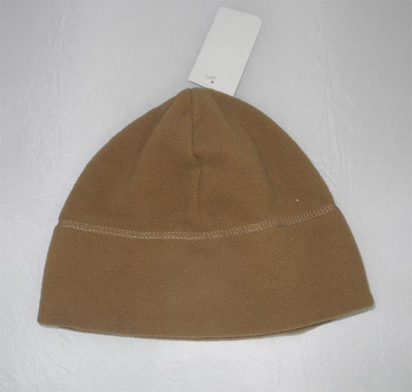 Wool Fleece Hat - Brown