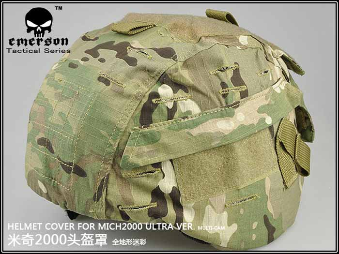 EMERSON Multicam MC MICH 2000 Helmet Cover GEN2