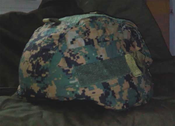 EMERSON Digital Woodland MICH 2000 Helmet Cover GEN2