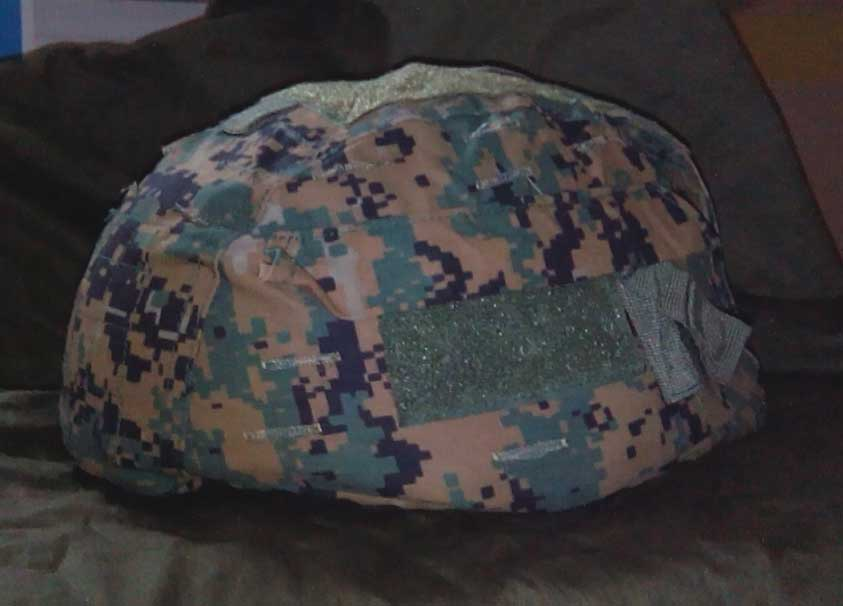 EMERSON Digital Woodland MICH 2002 Helmet Cover GEN2