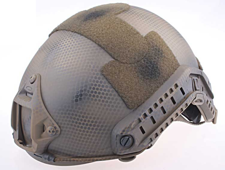 EMERSON FAST MH Base Jump Helmet - Navy Seal Brown