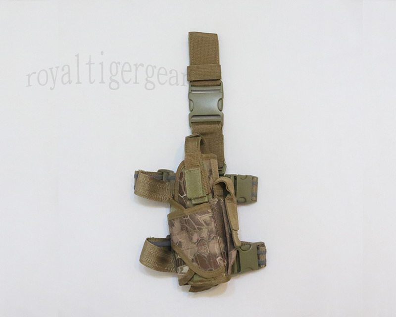 Drop Leg Holster - Python Snake Camo - MAD