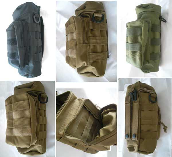 Tactical Bottle MOLLE Pouch