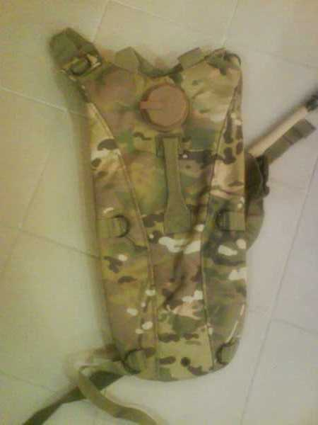Hydration Backpack w/ 2.5L Bladder - Multicam MC