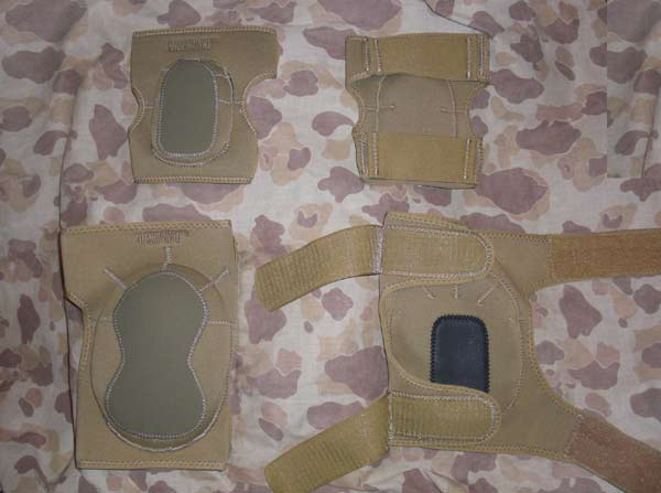 Internal Foam Knee Elbow set – Tan