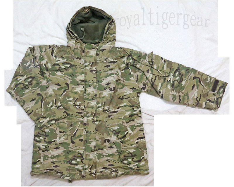 ECWCS style Wool Version Hood Parka Jacket - Multicam MC