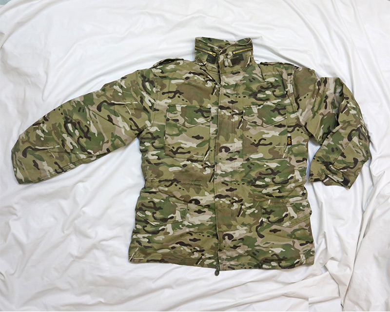 M65 style Multicam MC Jacket w/ liner