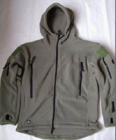 TAD Style Ranger Hood Freeze Jacket Smock - Green