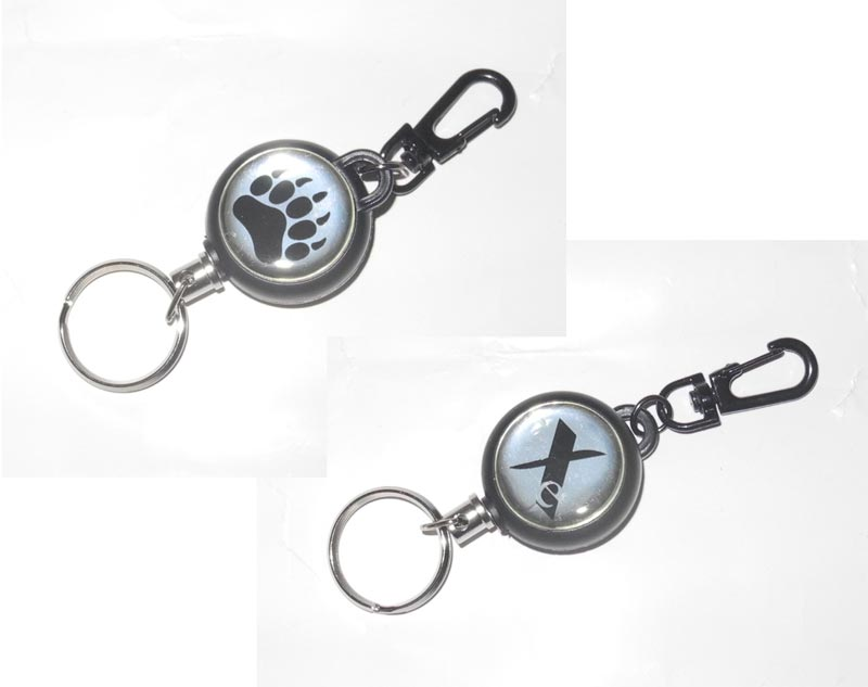 Spring Key Chain - Blackwater Bear