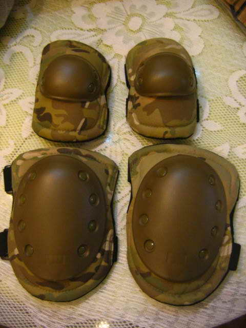 Knee Elbow set - Multicam MC
