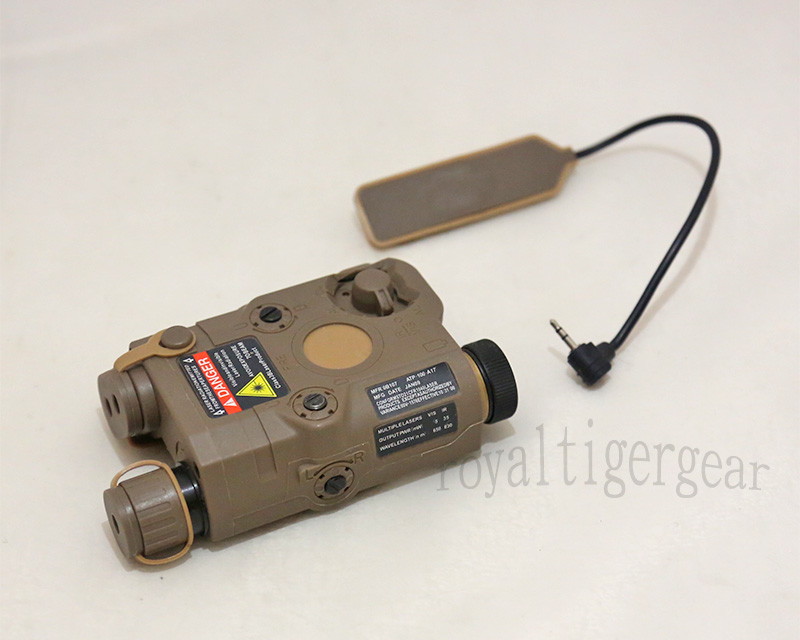 PRO&T AN/PEQ-15 Target Illuminator Light & Laser Sight – Dark Earth