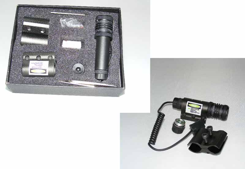 LXGD - Tactical Laser Dot Sight Pointer Scope – CR2 95mm