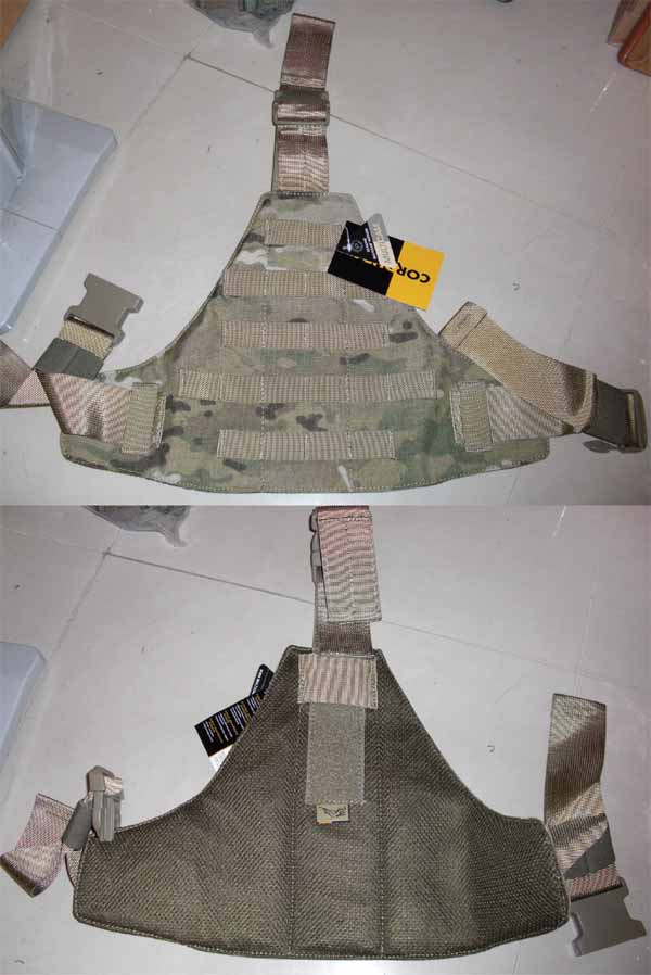 FLYYE MOLLE Triangular Leg Panel - MultiCam®