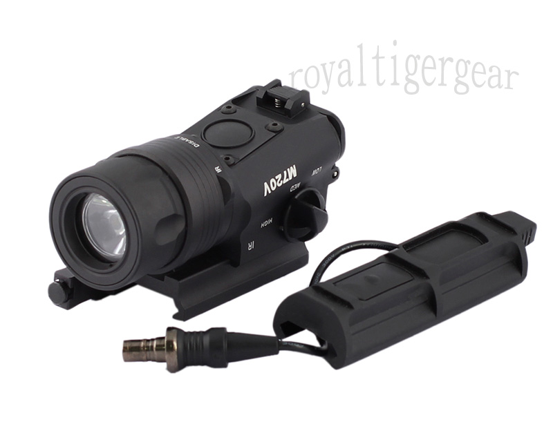 M720V Tactical Light (Light / Strobe Version) – Black