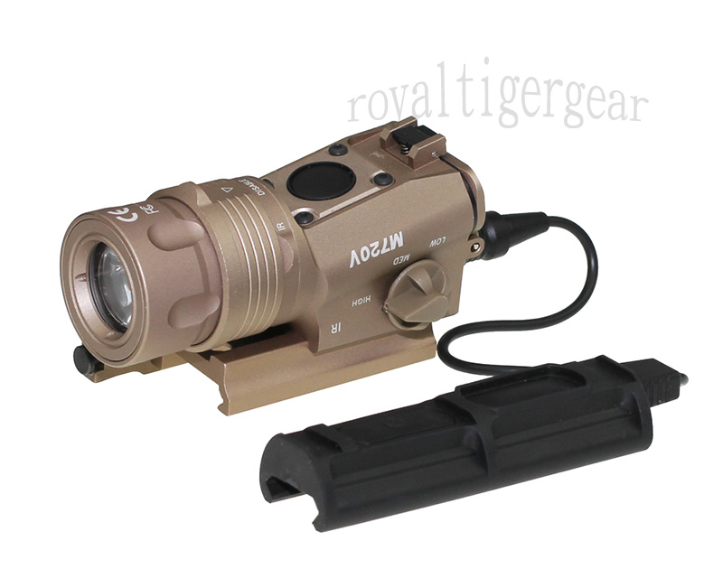 M720V Tactical Light (Light / Strobe Version) – Dark Earth
