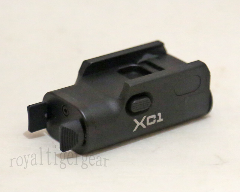 XC1 style Ultra-Compact LED Handgun Light Pistol Weaponlight for Rail – XC1-A