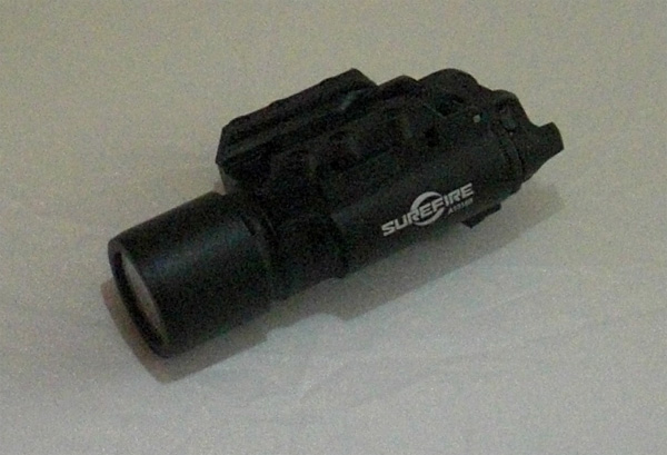 Surefire X300 Tactical LED Weapon Light for Rail - Black