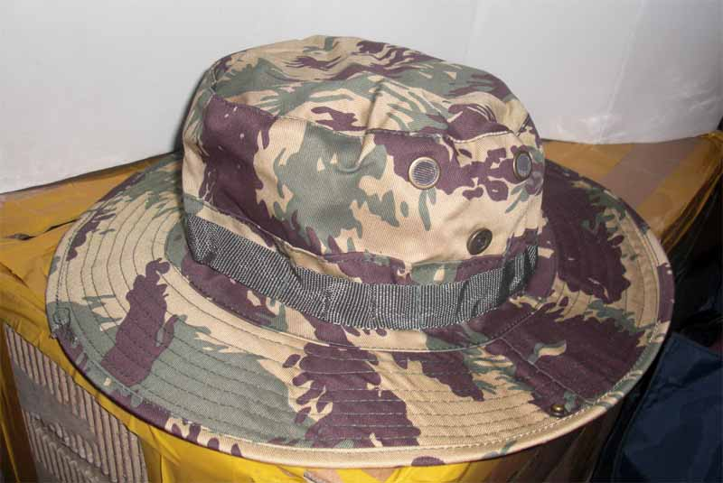 Afghanistan Northern Alliance Lizard Pattern Camo Boonie Hat