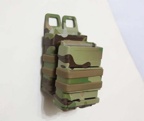 FastMag GEN3 Double M4 Mag Pouch - Water Transfer Multicam MC