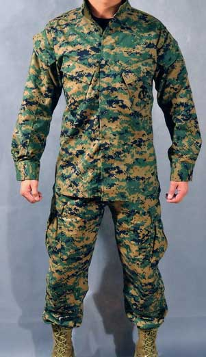 ALLWIN USMC MARPAT Digital Woodland Shirt Pants set