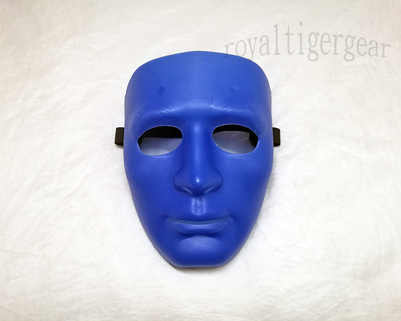 KOEI Tactical Face Hard Plastic Polymer Mask - Blue