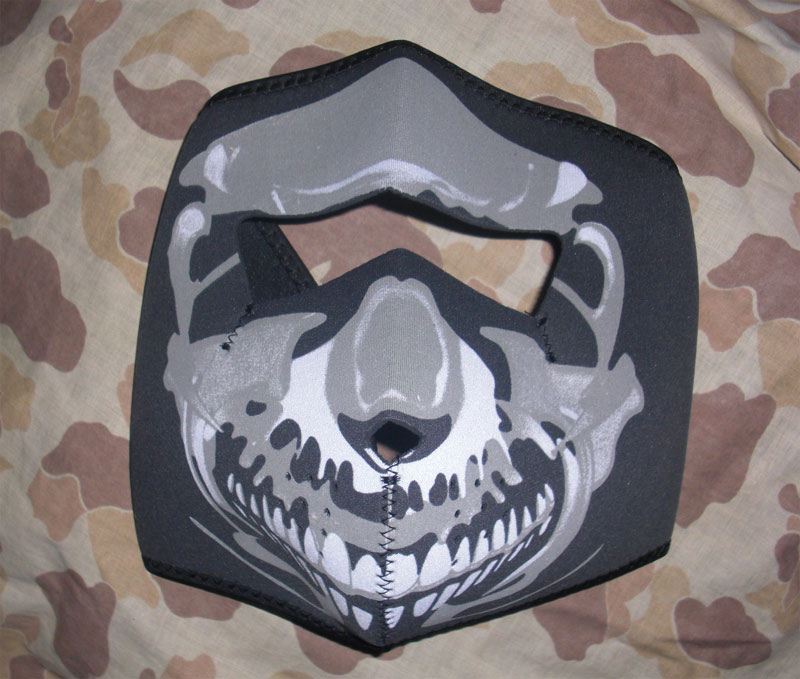 Skull Full Head Cover Wrap