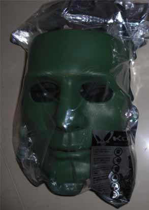 KOEI Tactical Face Hard Plastic Polymer Mask - OD